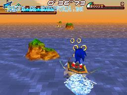 Juego de Sonic Sonic Rush Adventure Flash